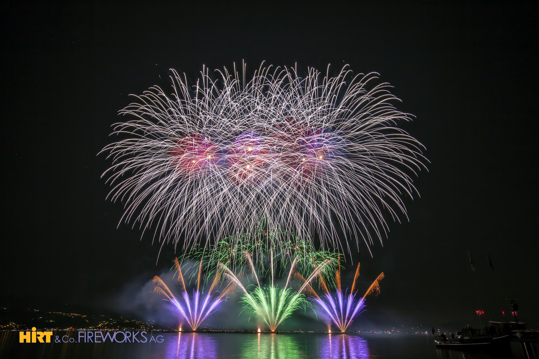 Ein tolles Feuerwerk mit Produkten aus unserem Feuerwerksverkauf